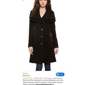 Mackage Mona Wool Coat made in Canada 🇨🇦